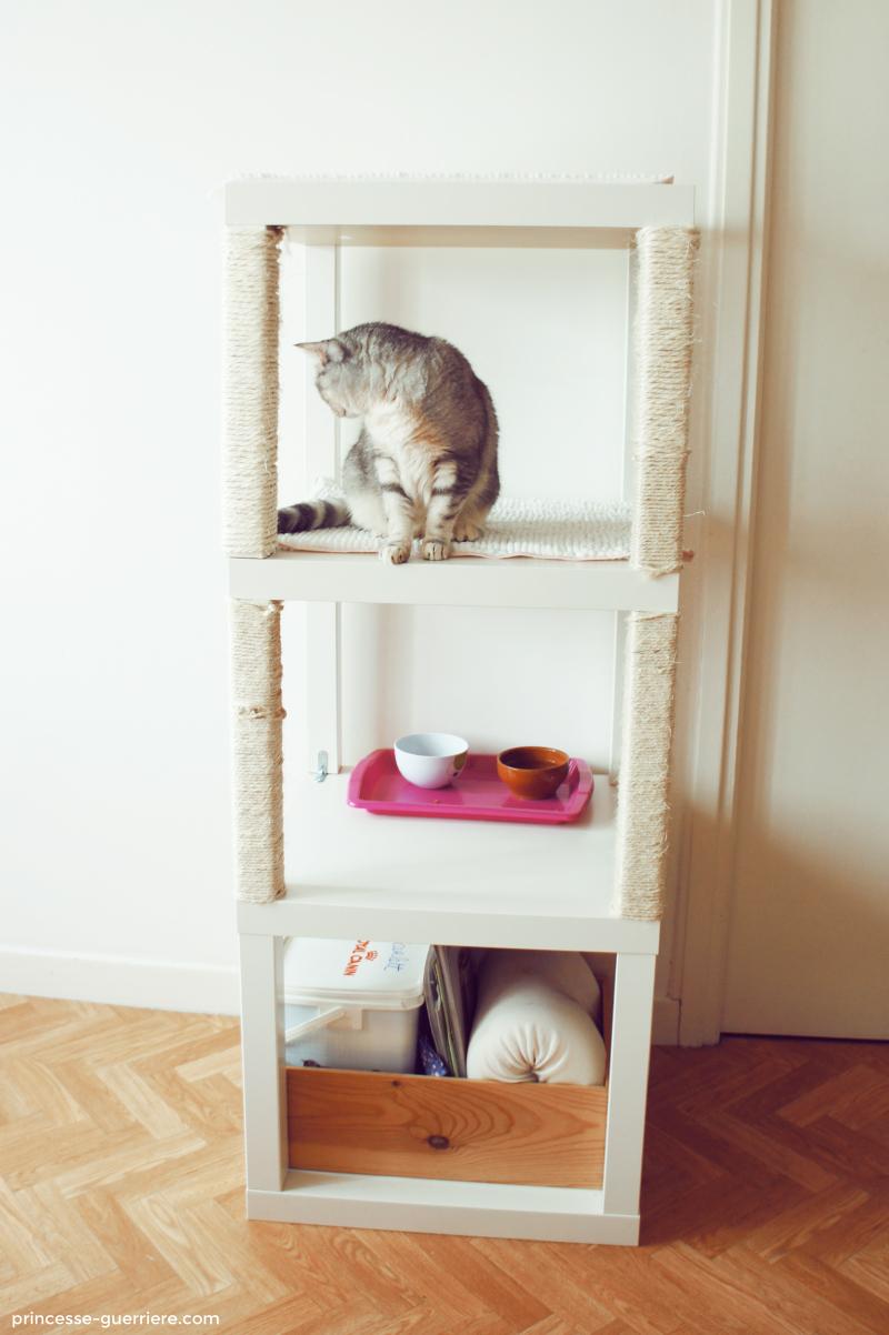 Arbre A Chat A Faire Maison diy: un arbre à chat ikea !